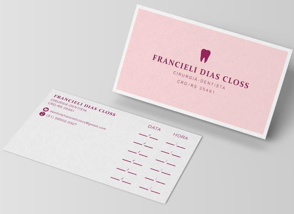 Dentista Francieli Dias Closs